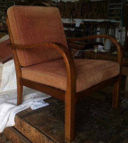 1960's German easy chair - Restoration Jeremy Zetland5