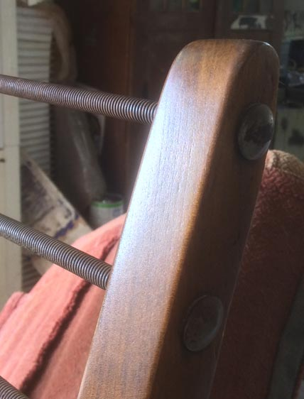 1960's German easy chair - Restoration Jeremy Zetland8