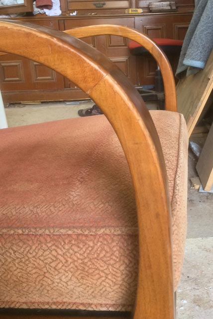 1960's German easy chair - Restoration Jeremy Zetland2