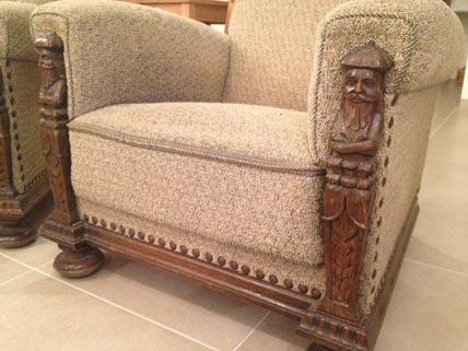 two armchairs restoration jeremy zetland