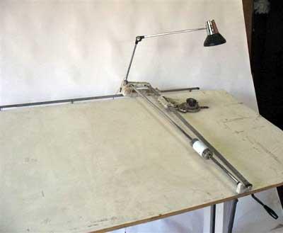 Bieffe Drafting Table Jeremy Zetland