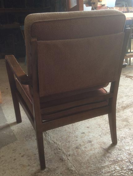 1960's German easy chair - Restoration Jeremy Zetland6