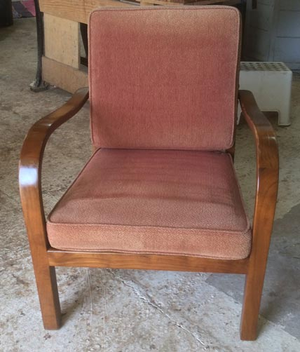 1960's German easy chair - Restoration Jeremy Zetland1
