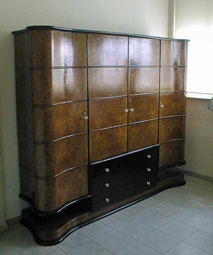 Furniture Restoration - Art-Deco Cabinet1
