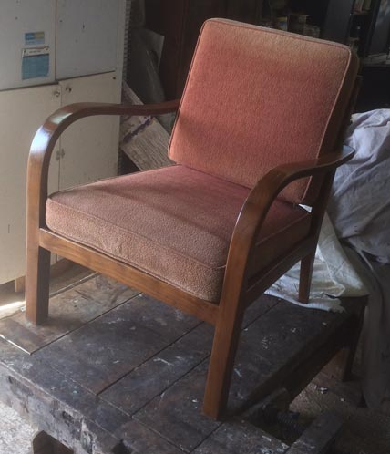 1960's German easy chair - Restoration Jeremy Zetland3