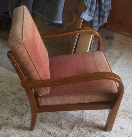 1960's German easy chair - Restoration Jeremy Zetland7