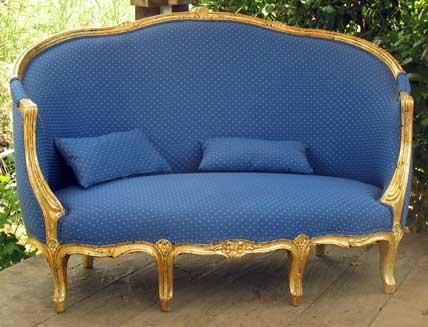 antique furniture restoration love seat jeremy zetland