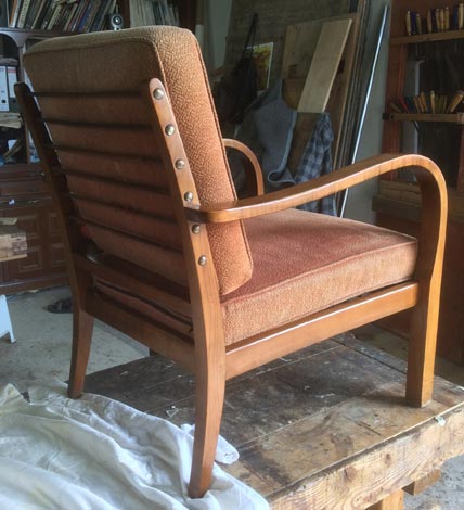 1960's German easy chair - Restoration Jeremy Zetland4