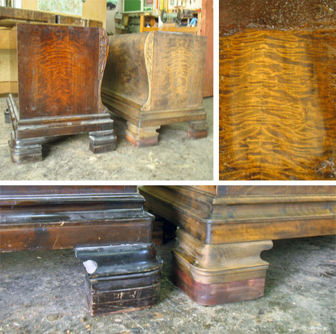 Furniture repair - Zeremy Zetland Restoration